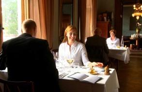 Lunch at Häckeberga castle