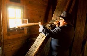 The Horn blower in Ystad