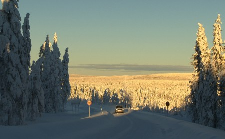 The North of Sweden in Winter - intro
