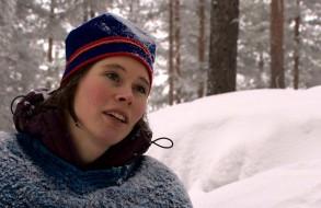 Sami girl in Jokkmokk
